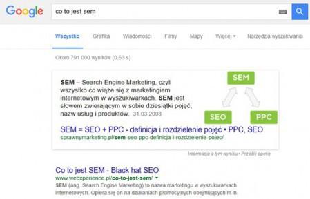 ad5b077c32667 Fragmenty polecane z odpowiedziami na pytania są już w Google.pl ...
