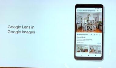 Google Lens w wynikach wyszukiwania